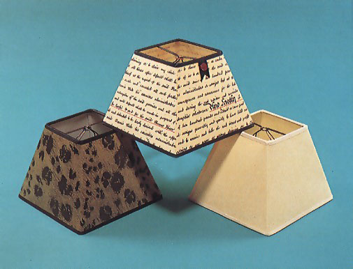 Woolpit interiors small shades 6 square small shades 6 square indenture shade and faux skin leopard shade with black mozeypictures Images
