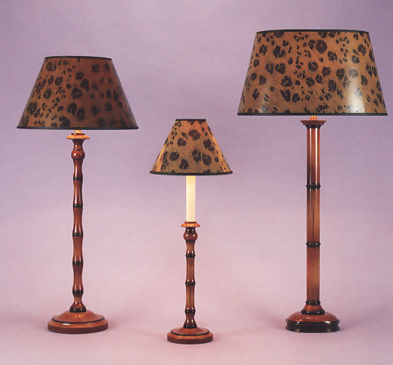 excellent woolpit interiors faux bamboo lamp bases hand painted with faux  with hand painted lamp shades